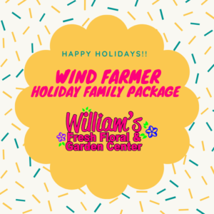 Wind Farmer - Holiday Family Gift Package